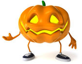Pumpkin 3d halloween illustration — Стоковое фото