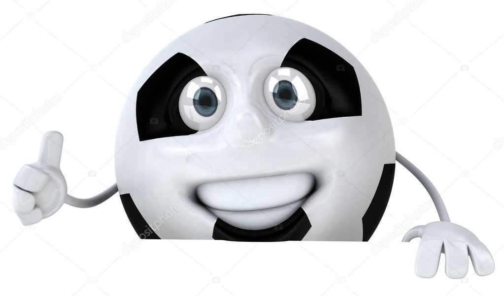 Soccer ball 3d illustration — Stock Photo #4397547