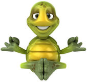 Turtle 3d illustration — Stock Photo