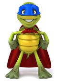 Ilustración 3d de tortuga superhéroe — Foto de Stock