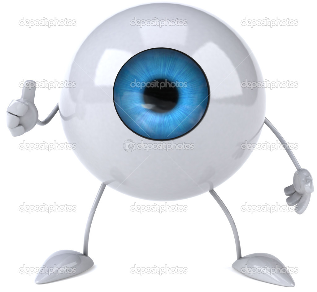 Eye 3d illustration — Stock Photo #4400986