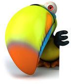 Toucan 3d illustration — Stock Photo