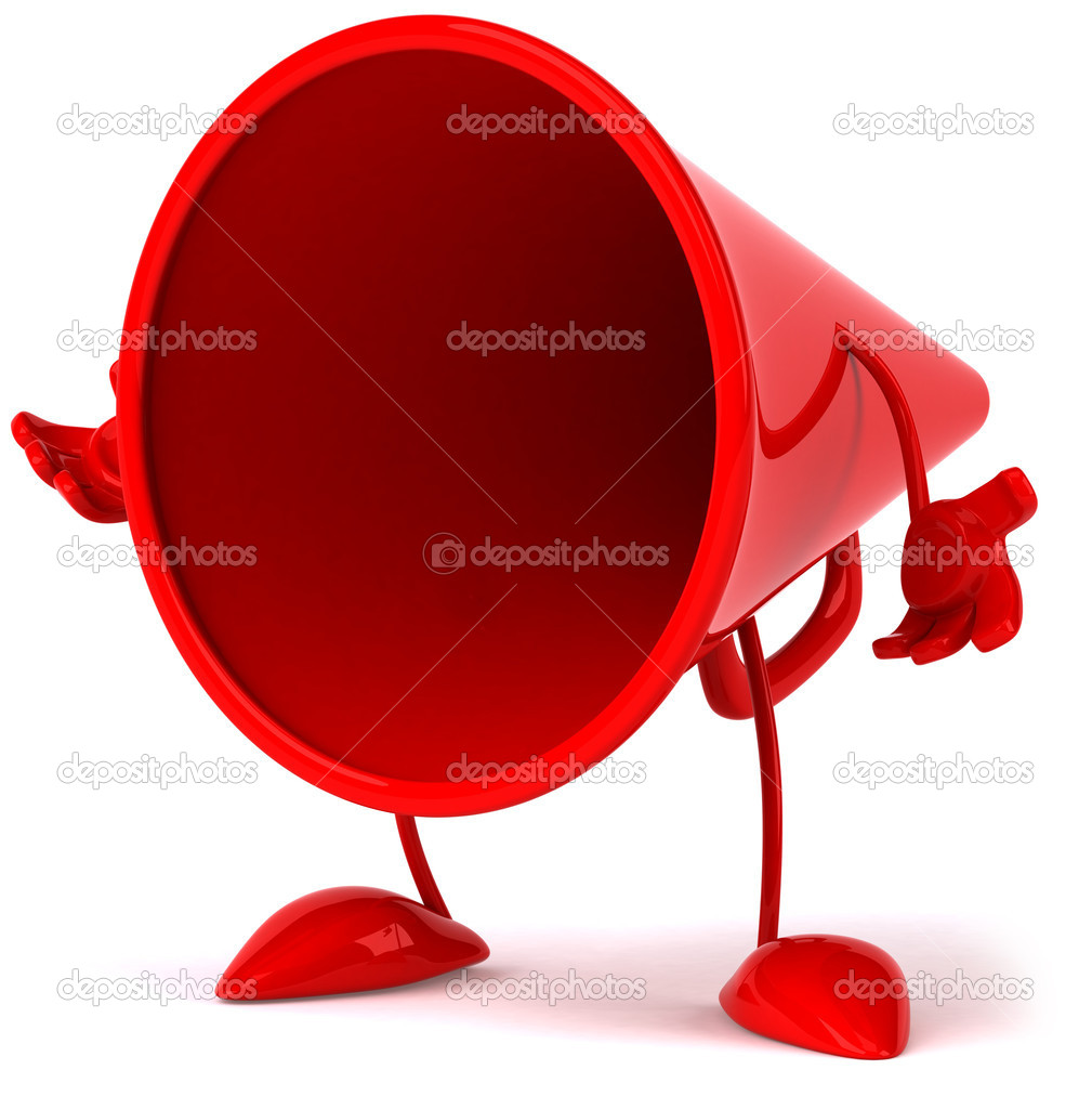 Loudspeaker 3d illustration — Stock Photo #4470250