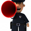 Police officer — Stock Photo
