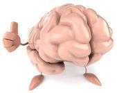 Beyin illüstrasyon — Stok fotoğraf