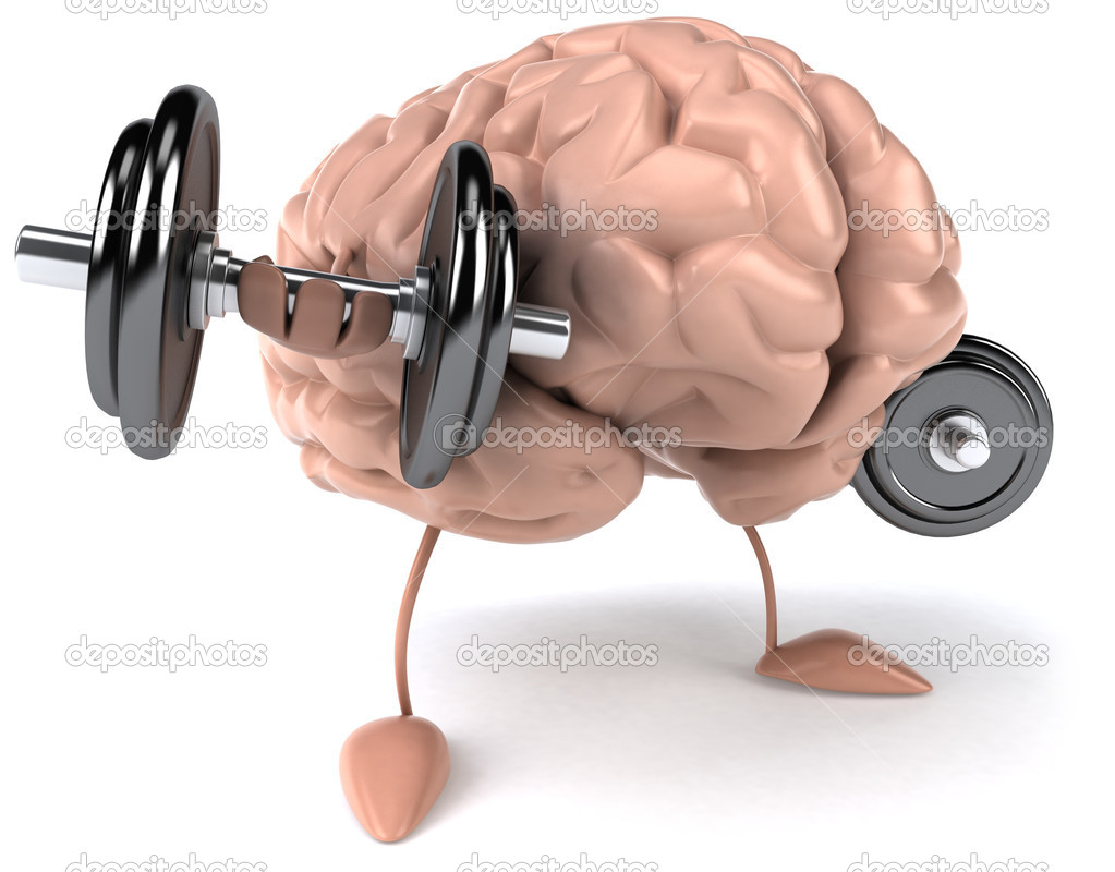 Brain exercise 3d illustration — Stock Photo #4633924