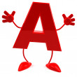 Alphabet, abc 3d illustration — Stock Photo