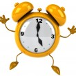 Alarm clock 3d illustration — Foto de Stock