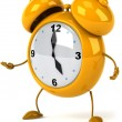 Alarm clock 3d illustration — Stock Photo #4748836