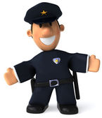 Police officer — Foto de Stock