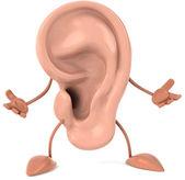 耳朵 — 图库照片