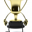 Gold chalice — Stock Photo