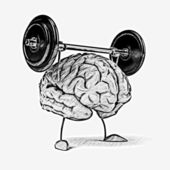 Strong brain — Stock Photo