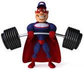 Strong superhero — Stock Photo