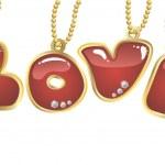 Hanging word love — Stock Vector #4962332
