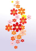 Abstract floral background for — Stock Vector