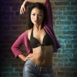 Sensual asian fashion girl — Stock Photo