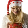 Looking for christmas present — Stock Photo #4701588