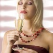 Smelling wine — Stock Photo #4701750