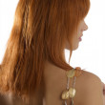 Necklace on shoulder — Stock Photo #4702495