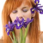 Violet make up — Stock Photo #4702534