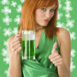 Saint patrick - Stock Photo