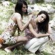 Foto de Stock  : Two girl friend