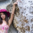 Pink hat — Stock Photo #4702817