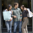 Out for shopping — Stock Photo