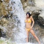 douche et cascade — Photo