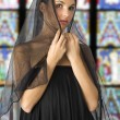 Black veil — Stock Photo #4703192