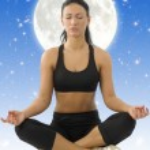 Yoga girl — Stock Photo #4703966