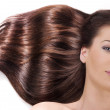 Woman with hair style — Stock Photo
