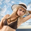 In summertime - Stock Photo