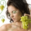 Showing grape — Stock Photo