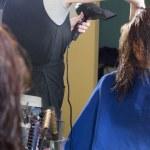 saç yüz — Stok fotoğraf