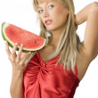 The watermelon - Stock Photo