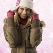 Girl ready for winter — Stock Photo