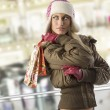 Going for christmas shopping - Stock Photo