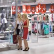Two shopping women — Stock Photo