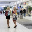Two blond shopping woman — Stock Photo #4706132