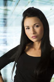 The asian business woman — Stock Photo