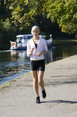 Běžec — Stock fotografie