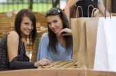 Tarde de compras — Foto Stock