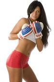 Sexy boxeador — Foto de Stock