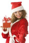 Noel gift — Stock Photo