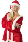 Red santa claus — Stock Photo