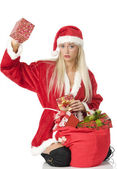 Tha christmas box — Stock Photo