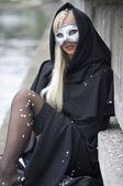 Sensual venice mask — Stock Photo
