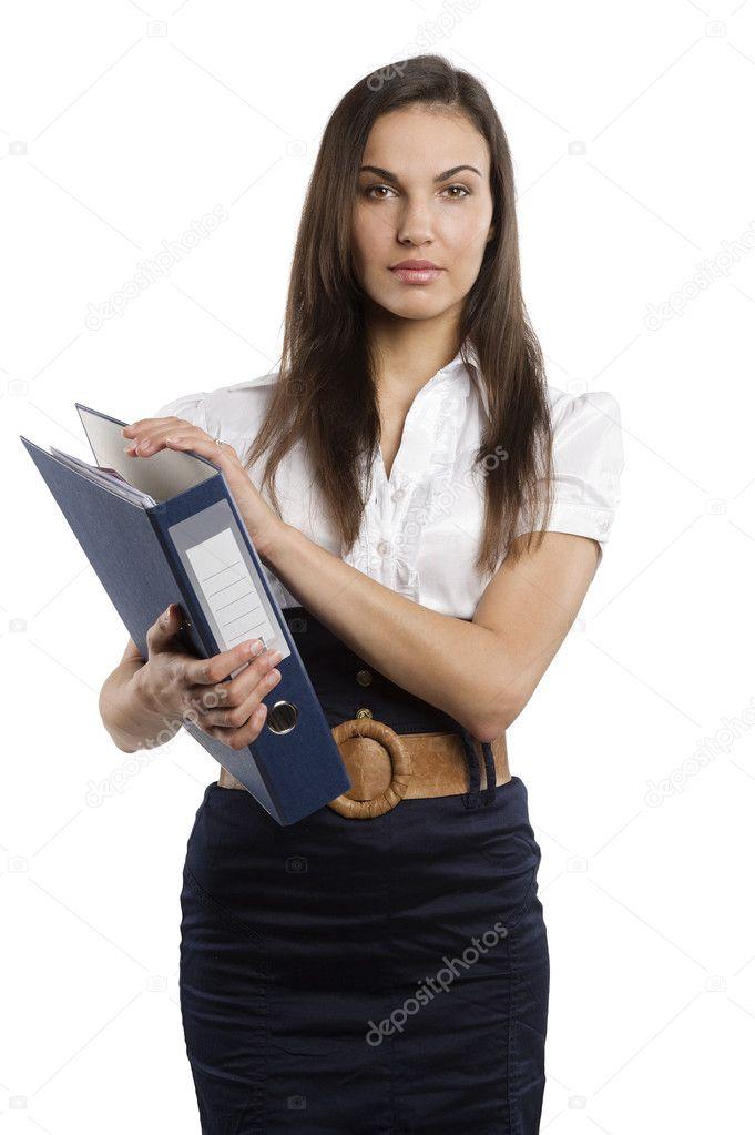 Зрелая секретарша порно фото